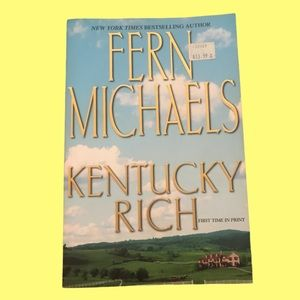 💋4/$20 Fern Michaels Kentucky Rich Large S/C NEW